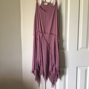 Intimately Free people asymmetric dress size med